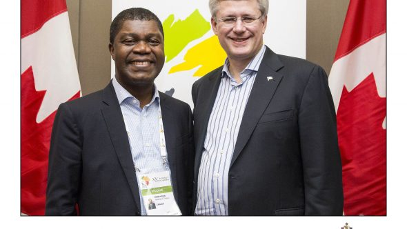 Thierry-Zomahoun-with-Prime-Minister-Harper-590×332